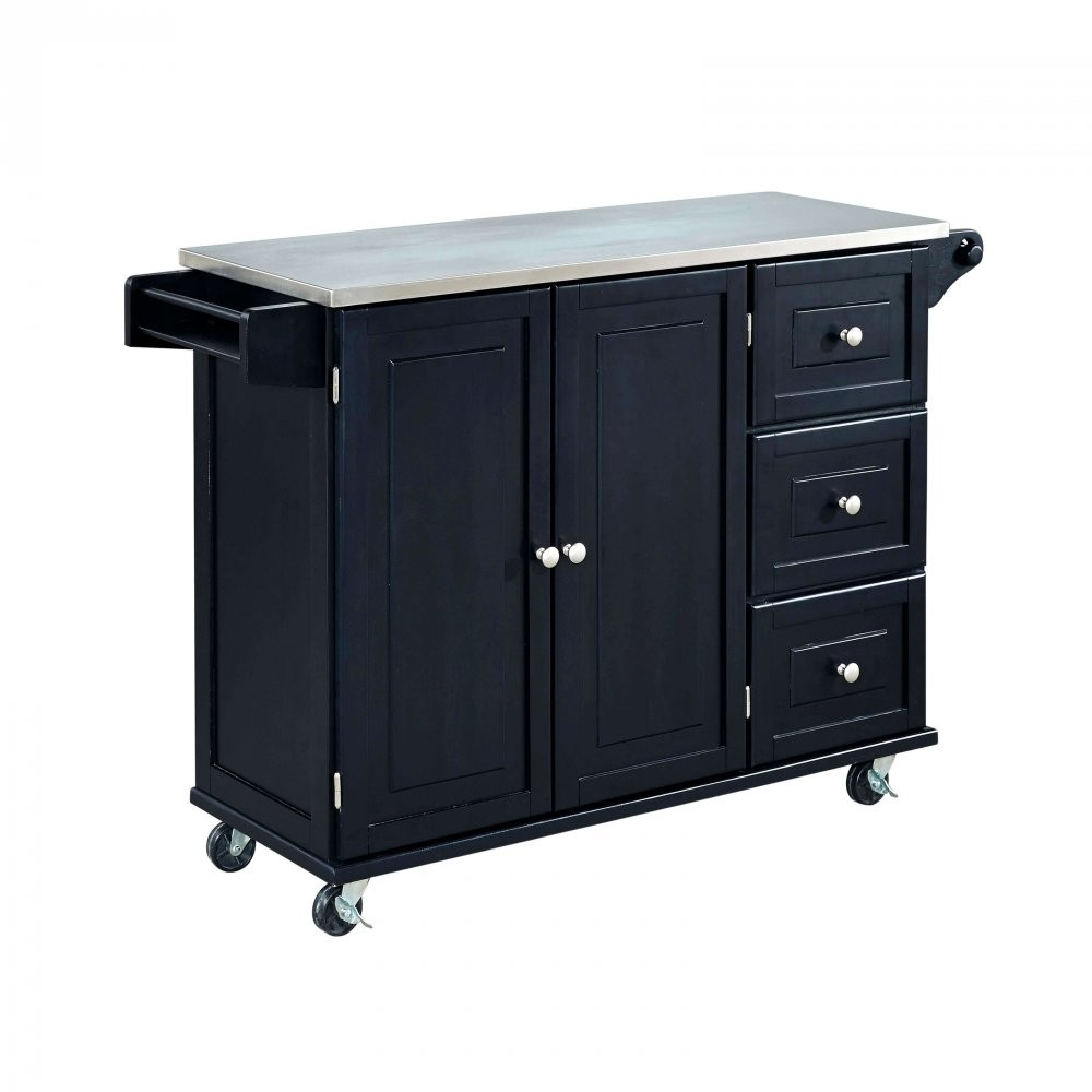 Kitchen Island On Wheels Uk: Kitchen Trolley With Wheels And Mobile Kitchen Island Food