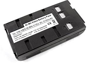 Battery for Panasonic PV-BP15 PV-BP18 PV-42 PV-20