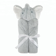 Wholesale animal soft hooded baby towels,baby hooded bath towels for kids