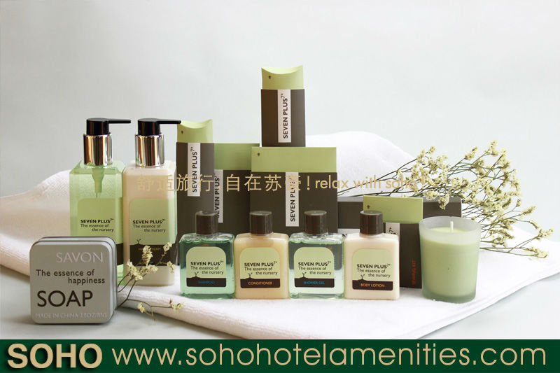 5 star SGS and FDA eco friendly hotel amenities