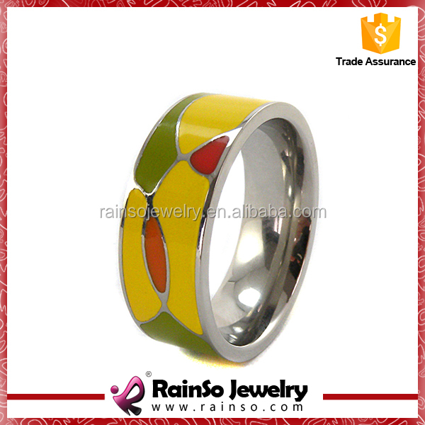 Enamel Color Stainless Steel Jewelry for Ladies