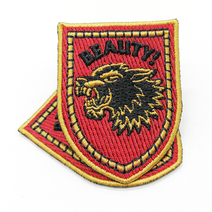 Wholesale Custom Iron On Badges Embroidery Patches