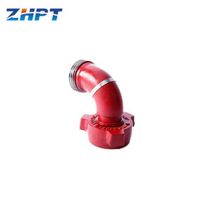 API Standard Union Type Pup Joint Long Radius Elbow