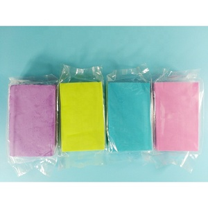 PVA magic eco-friendly custom colour absorbent cleaning sponge