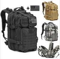 911 Medical Camo Army Fireproof Army 3 Day Assault Tactical Backpack, Large Capacity Military Backpack