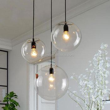 Hanglamp glazen bollen Globe online  LIVING-shop, stijlvol wonen!