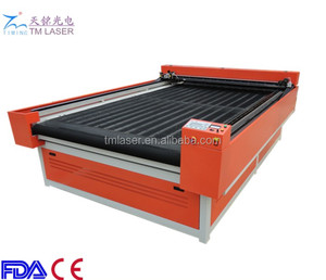 1600*2000 apparel industry leather/textile/fabric laser cutting machines with rolling table single ply auto cutter