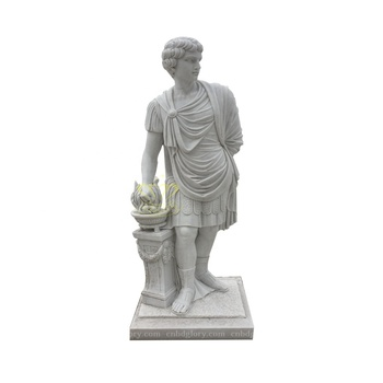 Hot Sale stone Carving products marble Roman man statue