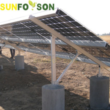 Thin Film Solar Panel Mounted Mounting Structure