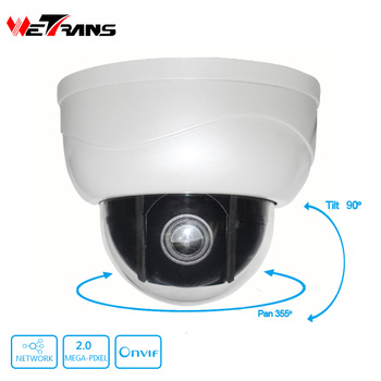 High Quality 15m IR Distance 1080P Middle Speed PTZ IP Camera