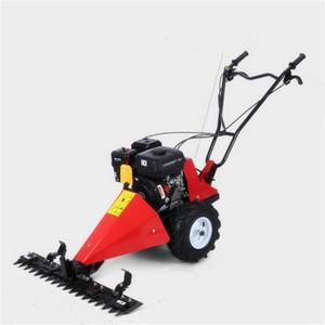 walk behind sickle bar mower/Diesel power scythe mower for garden grass  mowing