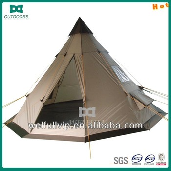 one pole 10 person tipi tents : tents tipi - memphite.com