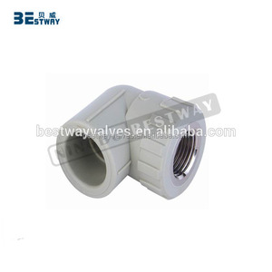 BWVA pvc pipe fitting 90 degree elbow