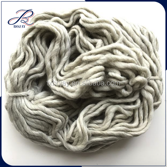 China Supplier Wool Yarn Hand Knitting 100% Wool Yarn 0.2nm/1 with Different Colors for DIY Knitting Sweater Skirt