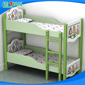 Popular Sale Kids Bed Kids Bunk Bed Kids Double Deck Bed With High