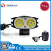 SG-T2200 cree 2000lumens ultra bright helmet mounted bicycle lights