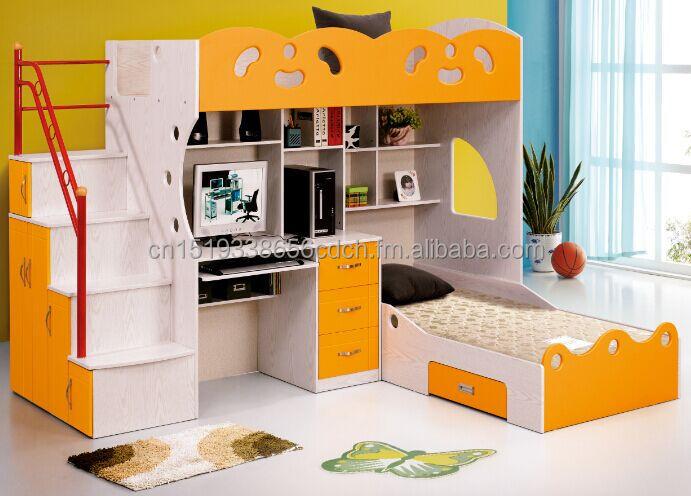 multifuncin de cama con escritorio y tres cajones y dos camas tamao pvc lamenite