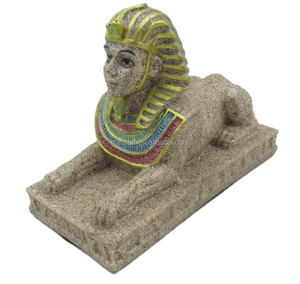 Egypt style sandstone Egyptian sphinx statue for home Aquarium decoration classical crafts gift 12052