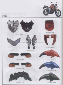 FZ16 motorcycle parts/Brasil motorcycle spare parts/South America motorcycle parts