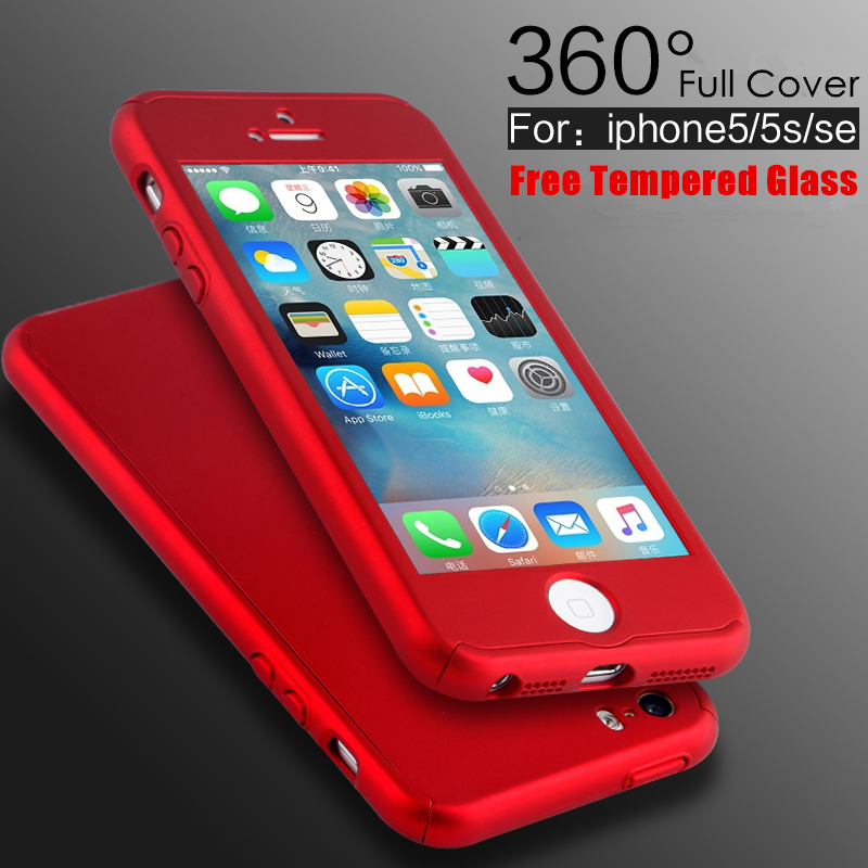 5s Se Luxury Coverage Of 360 Degree Hard Pc Case For Apple