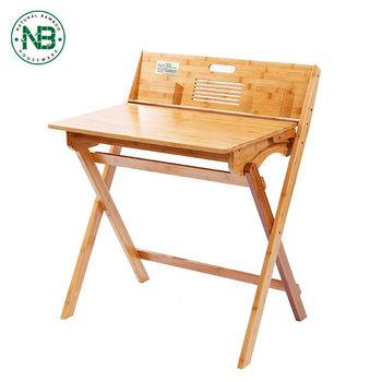 Multifunctional Furniture Bamboo Children Folding Study Table Buy