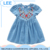 2017 Cheap Price Kids Children Clothing New Floral Printed Girls Sleeveless Dress