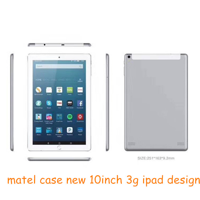 Google Android 10 inch dual core FM 1G/16G front/rear cameras MTK 3G tablet <strong>pc</strong>