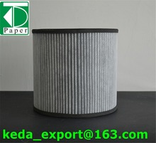 China KEDA Qualified nonwoven activated carbon auto air filter paper