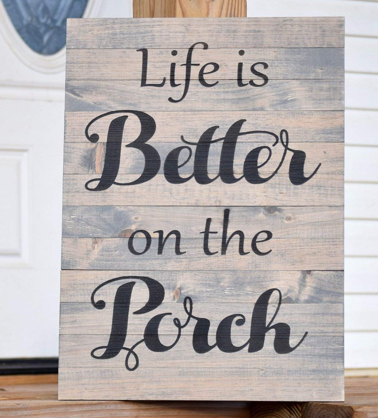 Front Porch Decor - Wood Welcome Sign - Porch Rules Sign - Farmhouse Decor - Housewarming Gift - Welcome Porch Sign - Welcome Decor - Signs