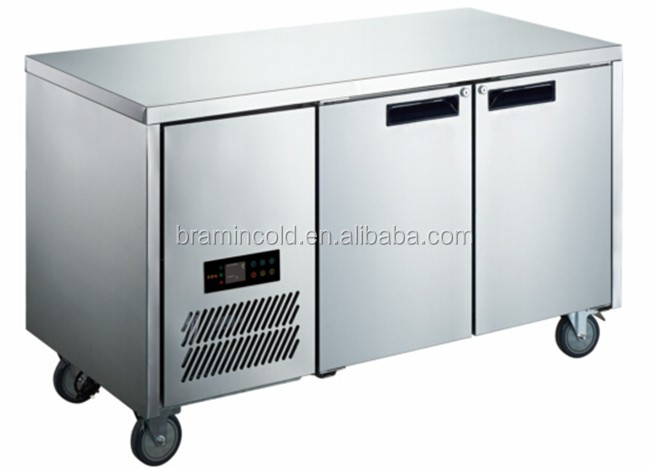 Undercounter Refrigerator / Undercounter Chiller / Four Glass Door Workbench Refrigerator