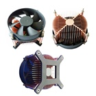 2019 hot sale & Cheap parts cpu fan cooler for socket LGA775 processor with copper plated heatsink