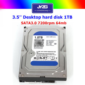 1000gb hard disk prices in china!! desktop SATA 3.5 7200rpm refurbished hdd 1 tb to 6tb