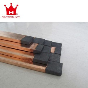 Copper Coated Flat Arc Air Gouging Carbon Graphite Electrode