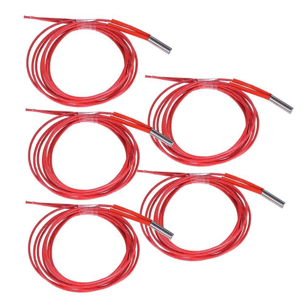Parts & Accessories Cheap Sale 5pcs 12v 40w Ceramic Cartridge Heater For Prusa I3 Mendel Reprap 3d Printer