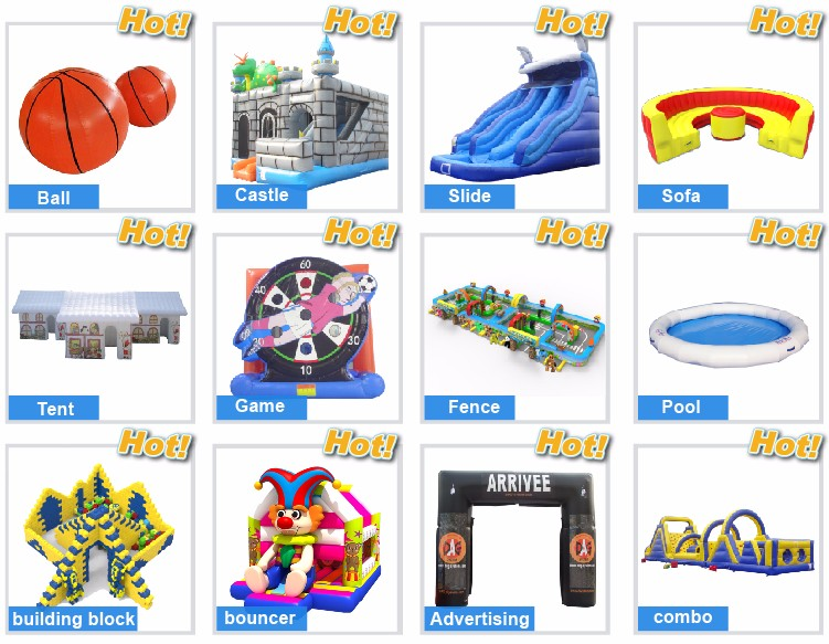 giant inflatable sports games