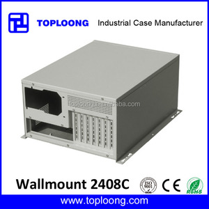 4u wall mount industrial pc case nas server cabinet /wall mount chassis