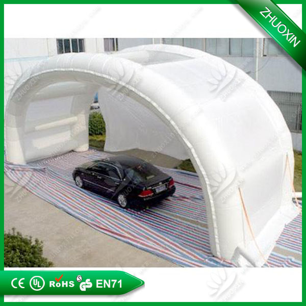 good sales Inflatable carport with arched roof