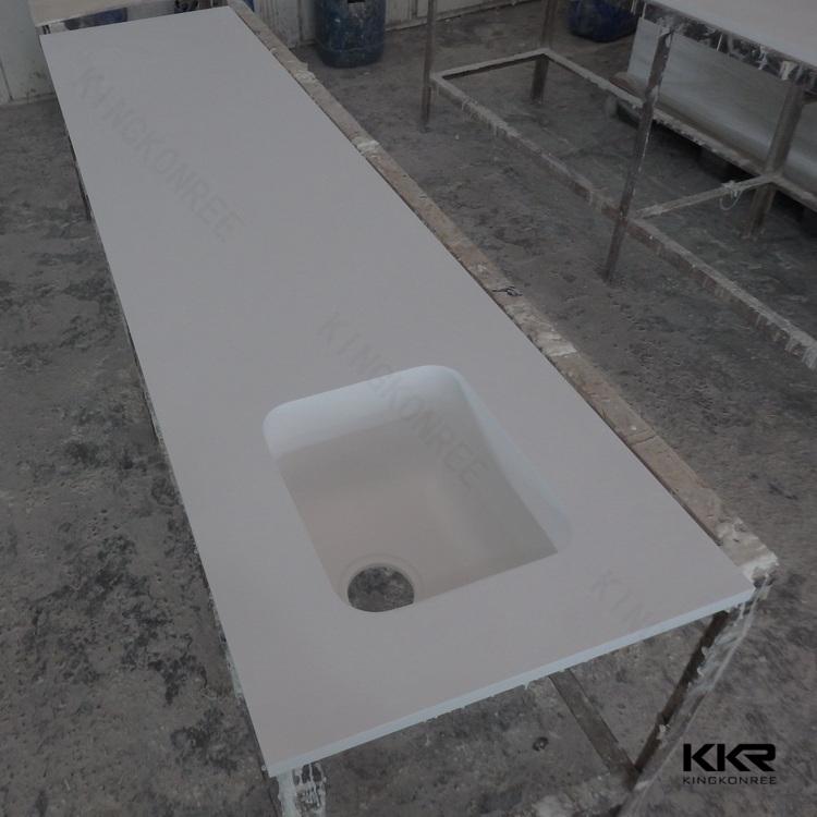 Prefabricated Bathroom Countertops: Marble Stone Vanity Top,Prefab Bathroom Countertop