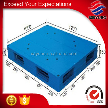 Cheap heavy duty double faced style special plastic pallet