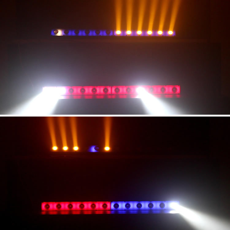 Super Bright RGB 2 in 1 Beam indoor LED Light Bar Wall Wash