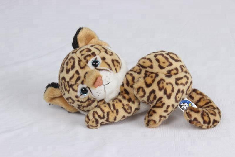 High Quality Leopard Plush Toy Cuddly Stuffed Wild Animals Toys