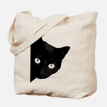 Fashion Custom Printing Good Quality Cat Pattern Canvas Cotton Tote Bag