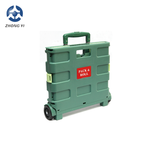 2018 folding used shopping trolley cart shopping trolley smart cart