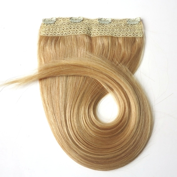 quad weft human hair extensions