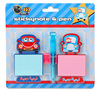 INTERWELL LW7688 Kids Cute Notepad Sticky Pad Note Book With A Pen