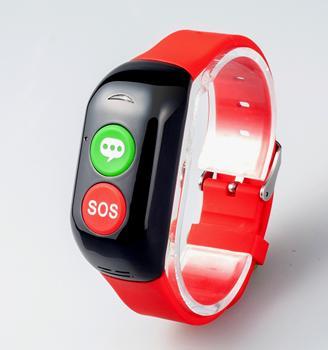 Pa Health Monitoring Wristband Phone Gps Tracking Sos Bracelet Elderly Smart Watch