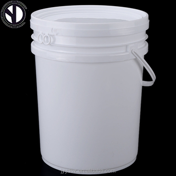 Factory Direct Sale 25l White Plastic Paint Barrels With Easy Open