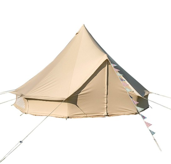 3M 4M 5M large outdoor Family Camping modern canvas colorful Bell Tent