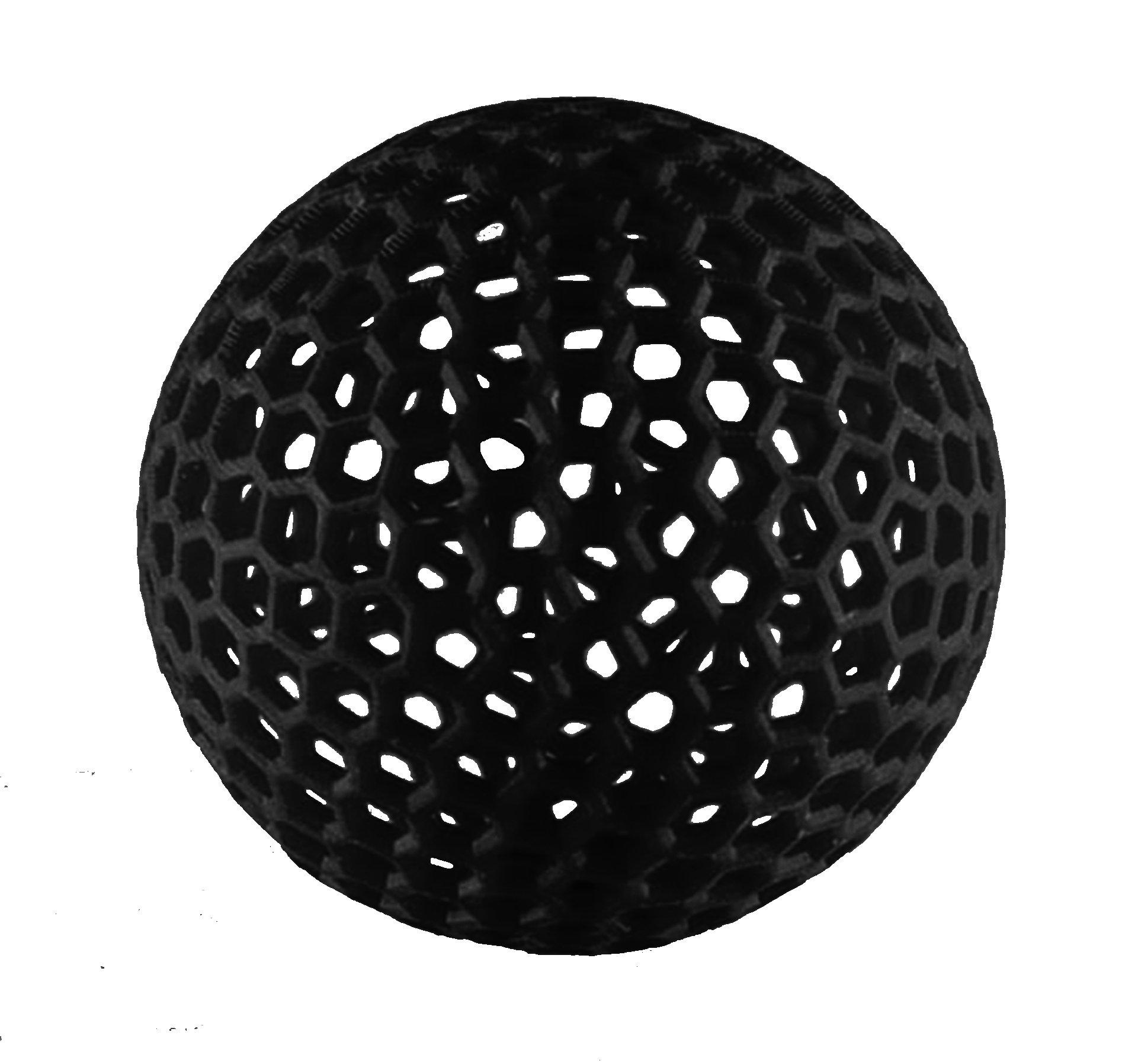 MakerJuice Black G+ UV 3D Plastic Printing Resin for SLA and DLP Printers (one 500 mL bottle).