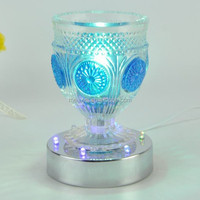 China supplier glass oil lamp shade with essential oil